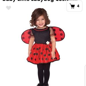 Party City Dresses Lady Bug Costume Baby Girl Poshmark